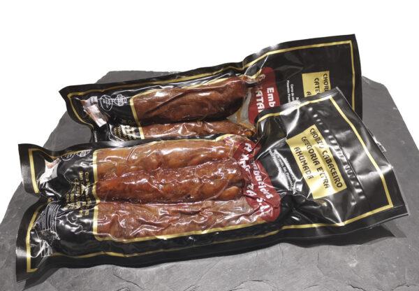 Chorizo Cabaceiro envasado